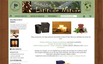 Refonte de la boutique en ligne Latitude Nature