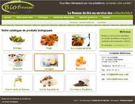 Mini site vitrine sur l'agriculture biologique locale