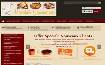 Lancement du site Marchés Gourmands