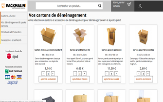 Site E-Commerce Packmalin.com